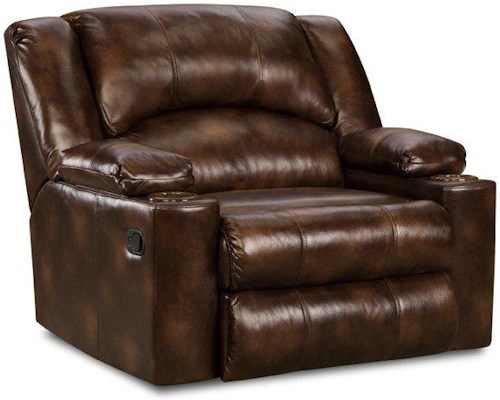 United Furniture Industries 711 Casual Downtime Lounger