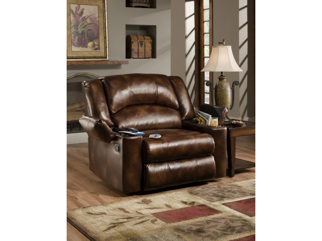 United Furniture Industries 711Casual Downtime Lounger