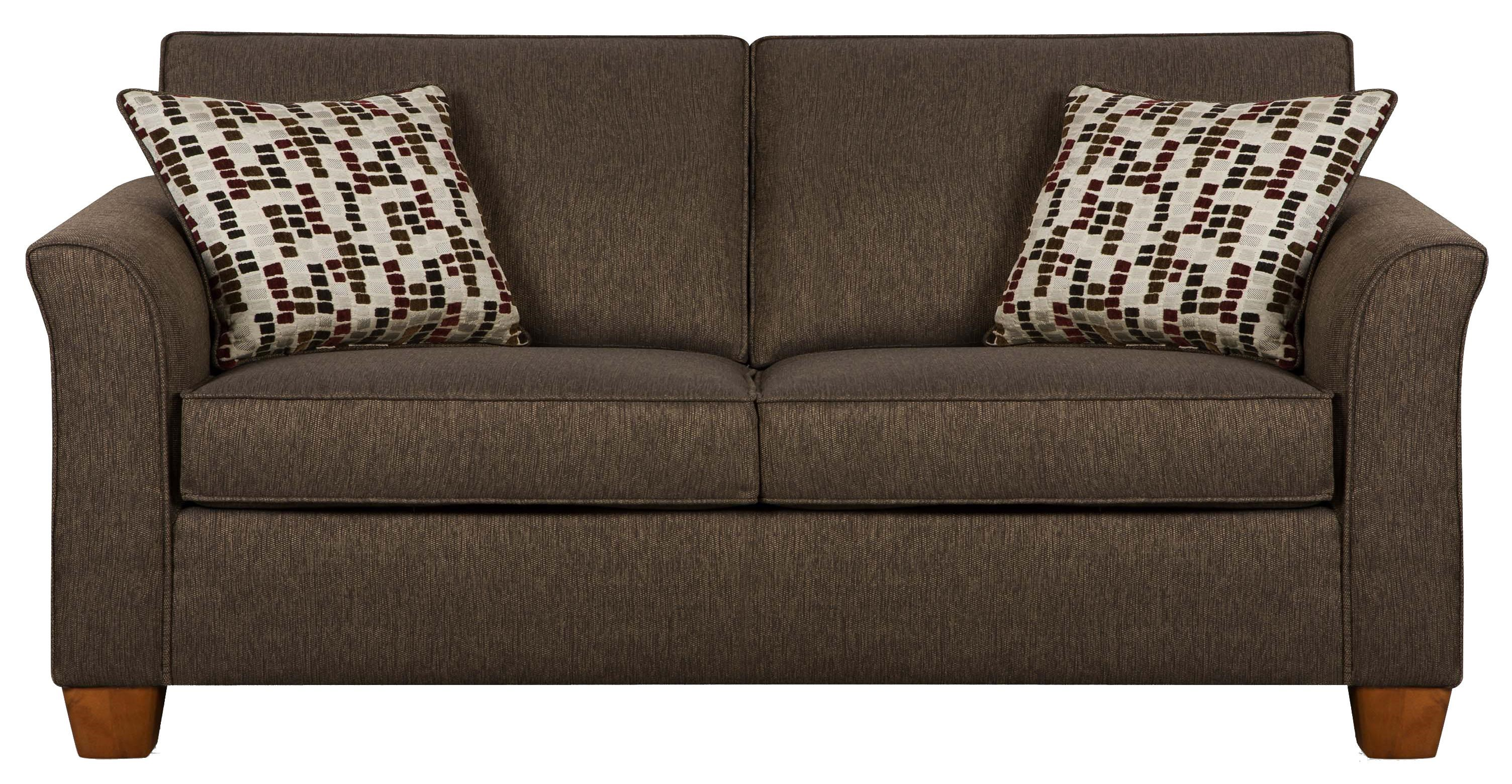 7251 Full Size Sofa Sleeper In Casual Furniture Style By Simmons Upholstery