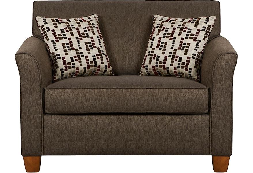 United Furniture Industries 7251 Twin Size Sofa Sleeper In