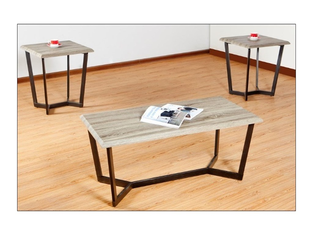 7306 Occasional Table Set By United Furniture Industries At Miskelly Furniture