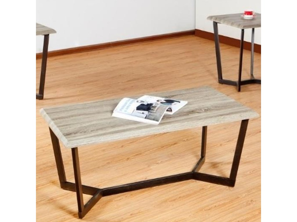 United Furniture Industries 7306Rectangular Cocktail Table
