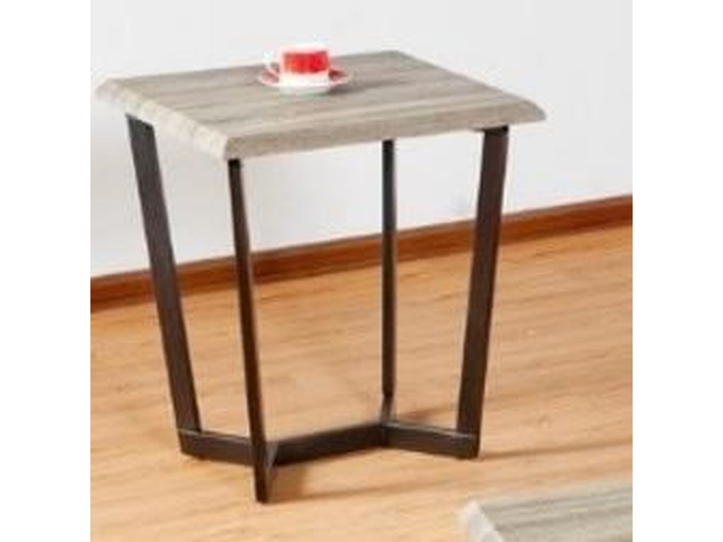 United Furniture Industries 7306Square End Table
