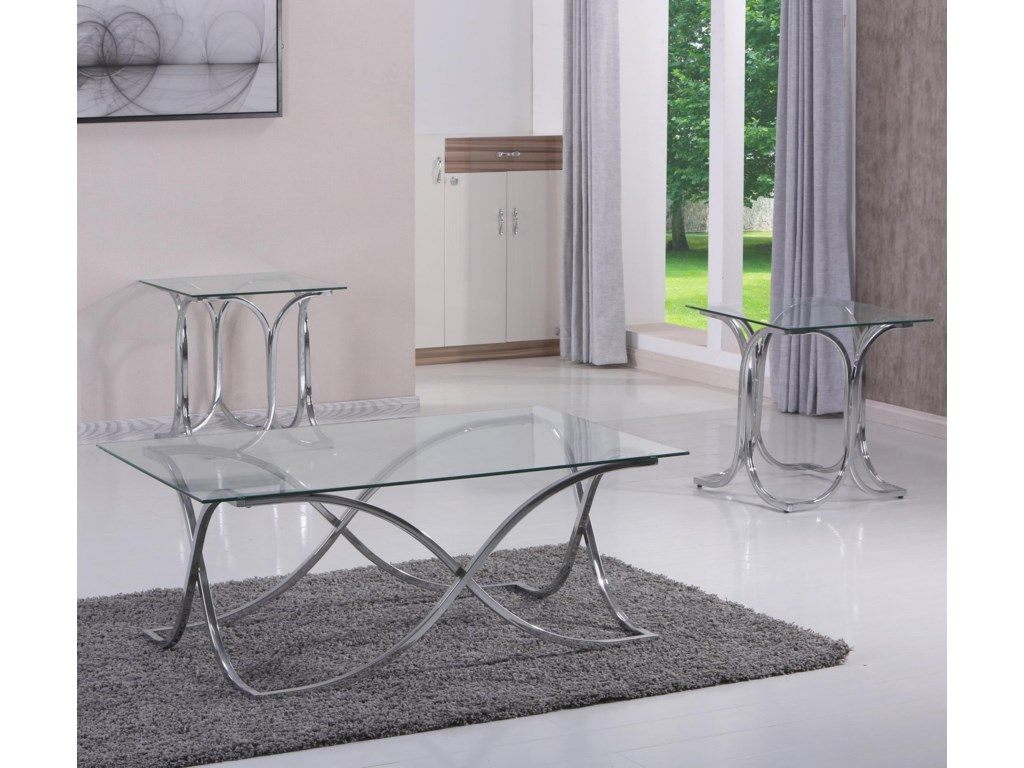 Simmons Upholstery 73163 Piece Occasional Table Set
