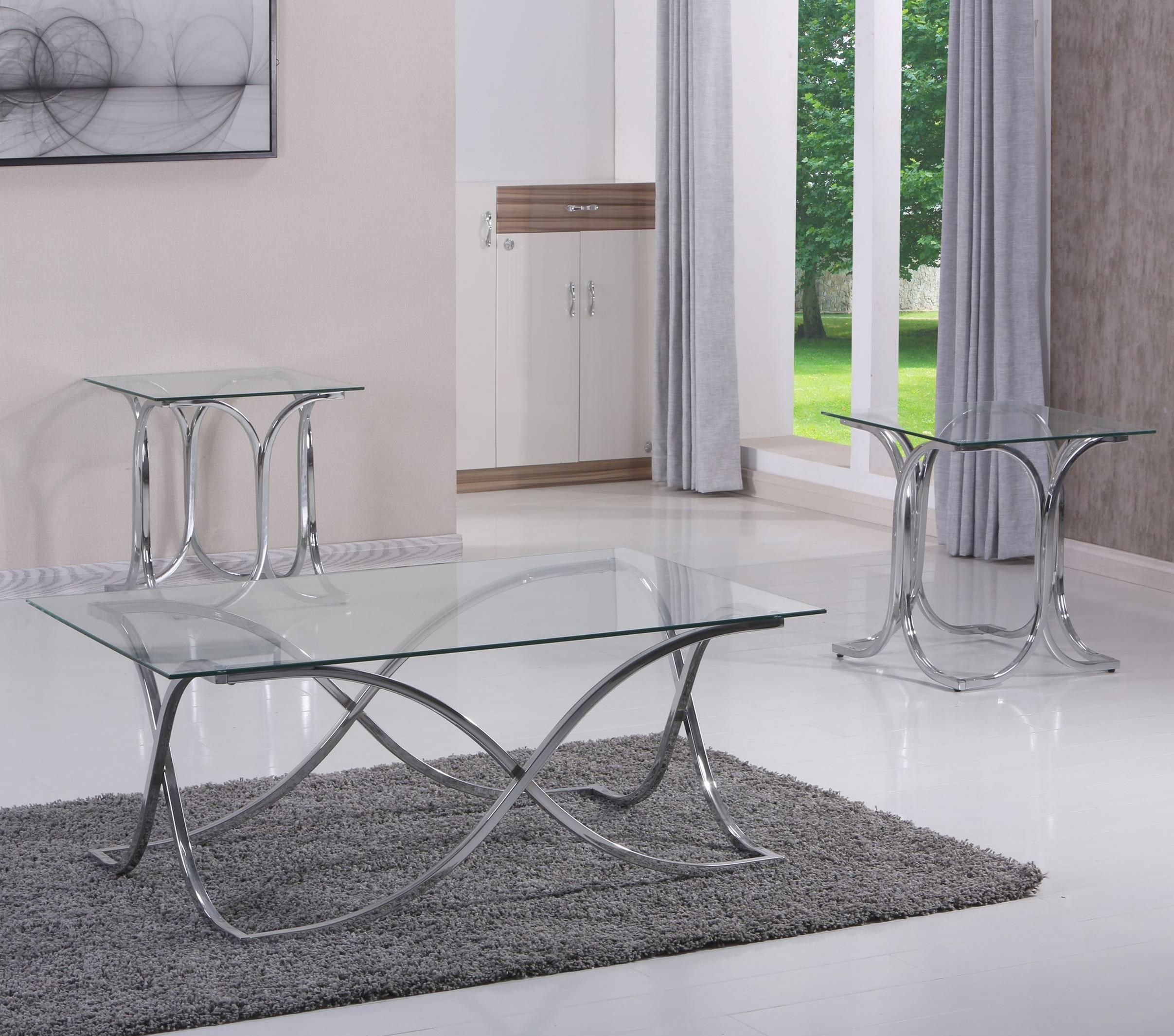 United Furniture Industries 7316 Contemporary 3 Piece Occasional Table Set  sc 1 st  Miskelly Furniture & United Furniture Industries 7316 Contemporary 3 Piece Occasional ...