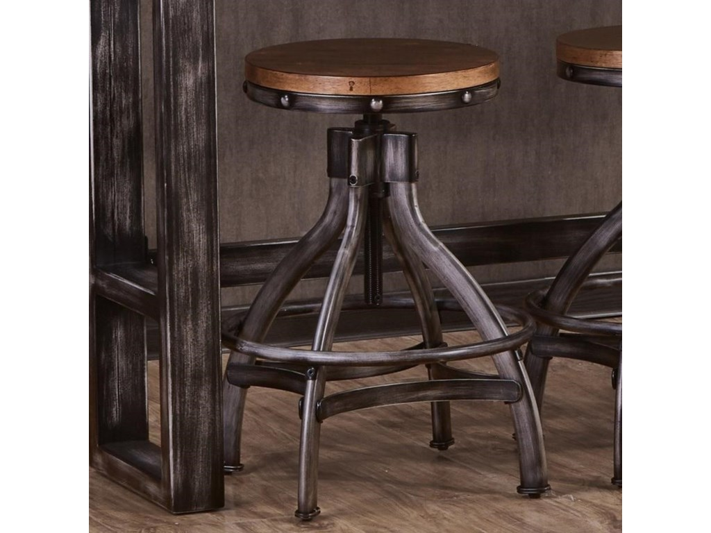 Lane Home Furnishings ChandlerAdjustable Bar Stool
