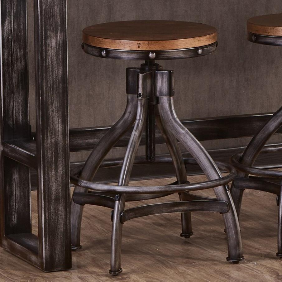 United Furniture Industries ChandlerAdjustable Bar Stool ...