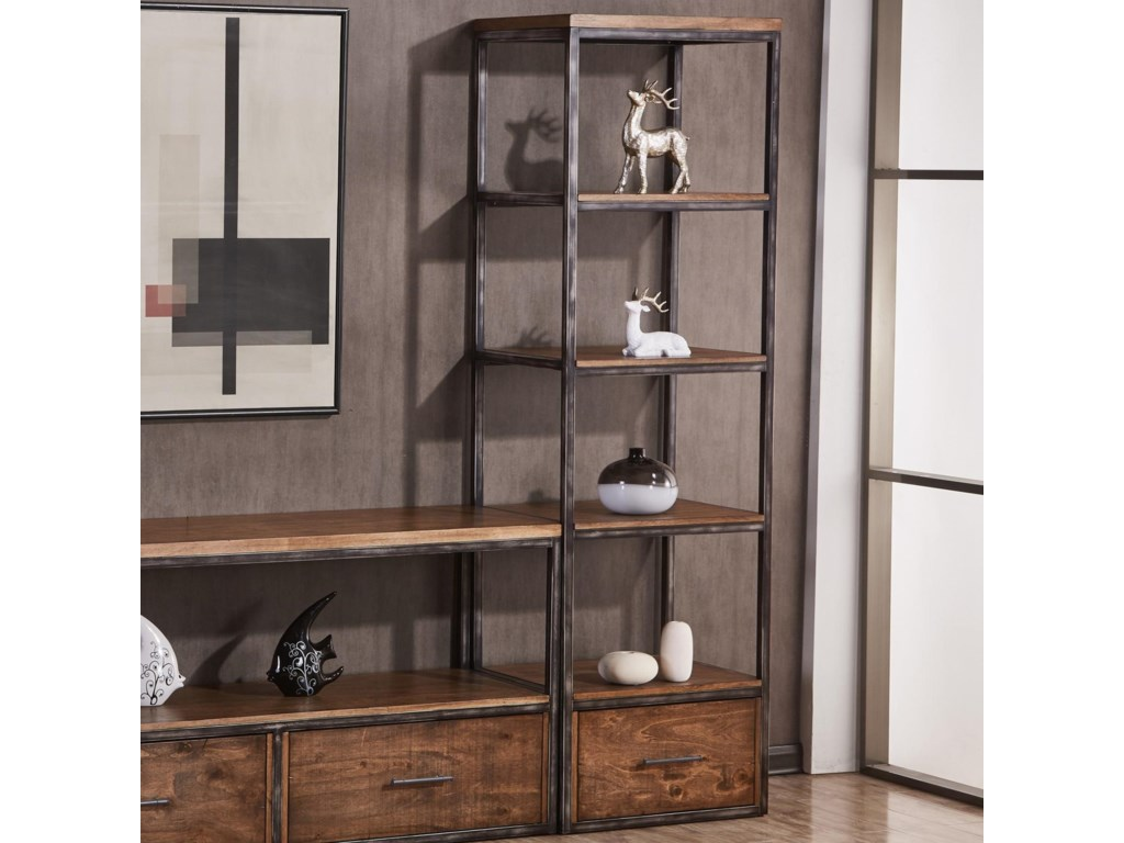Simmons Upholstery 7326Open Bookcase