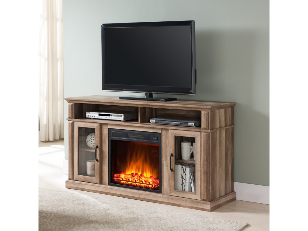 United Furniture Industries 7578Fireplace Media Center