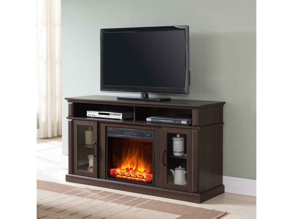 United Furniture Industries 7579Fireplace Media Center