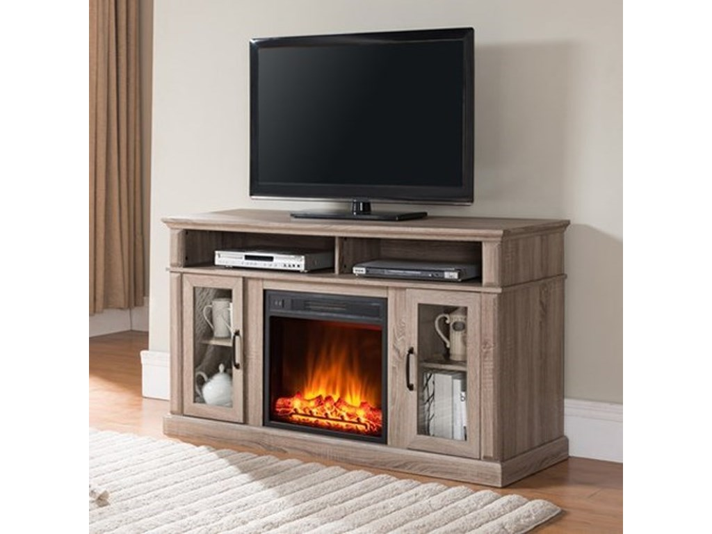 United Furniture Industries 7580Fireplace Media Center