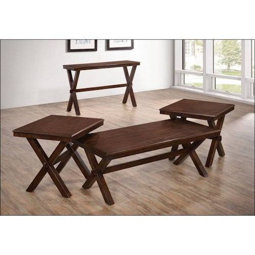United Furniture Industries 7505 Casual Occasional Table Group