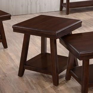 United Furniture Industries 7506 Square End Table with Shelf