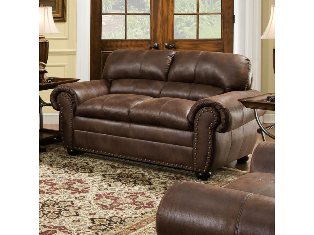 Simmons Upholstery 7510Casual Loveseat