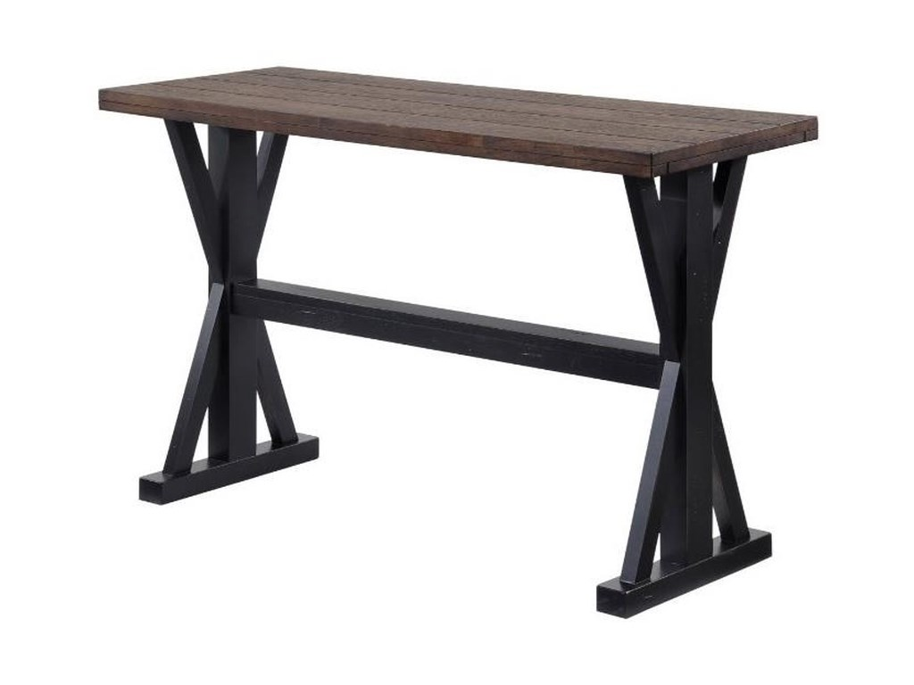 United Furniture Industries 7525Transitional Console Table