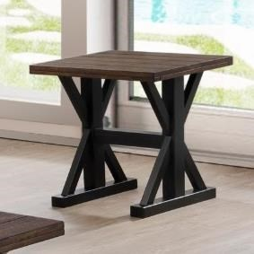 Simmons Upholstery 7525Transitional End Table