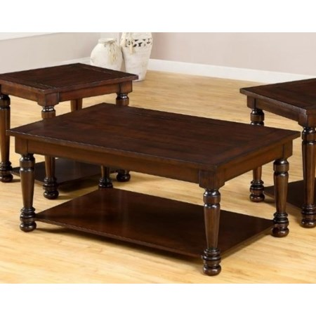 Transitional Cocktail Table