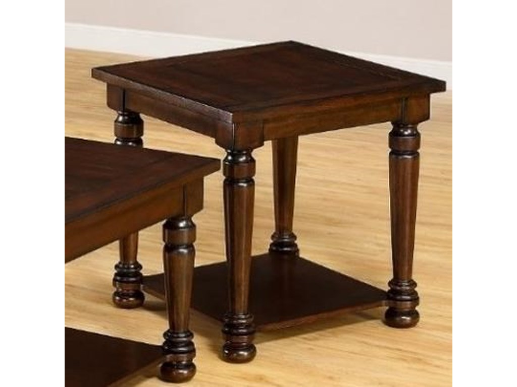 United Furniture Industries 7532Transitional End Table