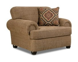 Simmons Upholstery 7533 BRTransitional Chair