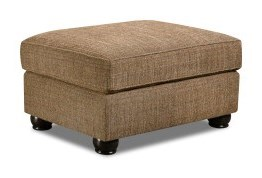 Simmons Upholstery 7533 BRTransitional Ottoman
