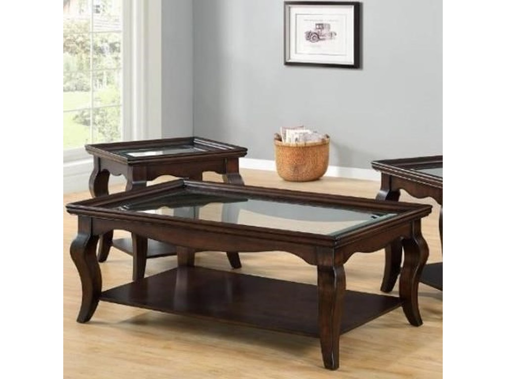 Lane Home Furnishings BellamyRectangular Cocktail Table