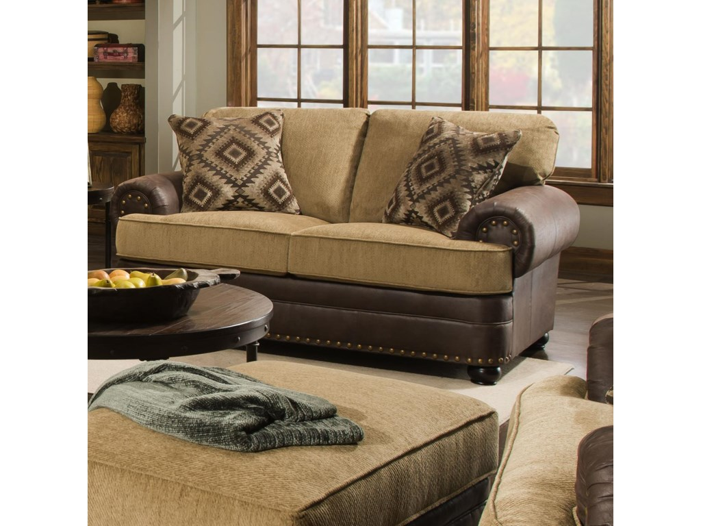 United Furniture Industries 7541Loveseat