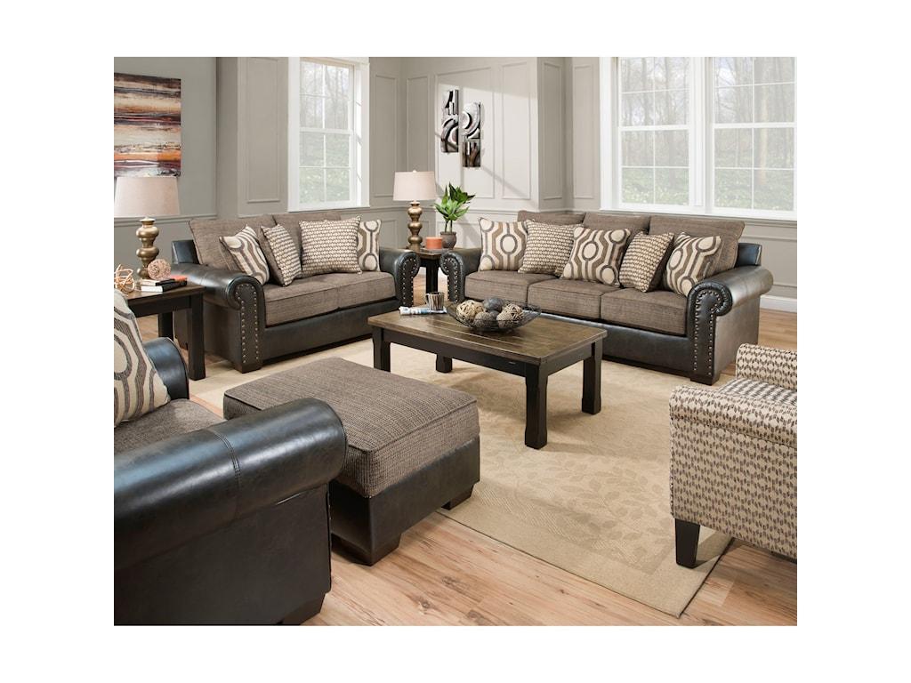 United Furniture Industries 7591Sofa
