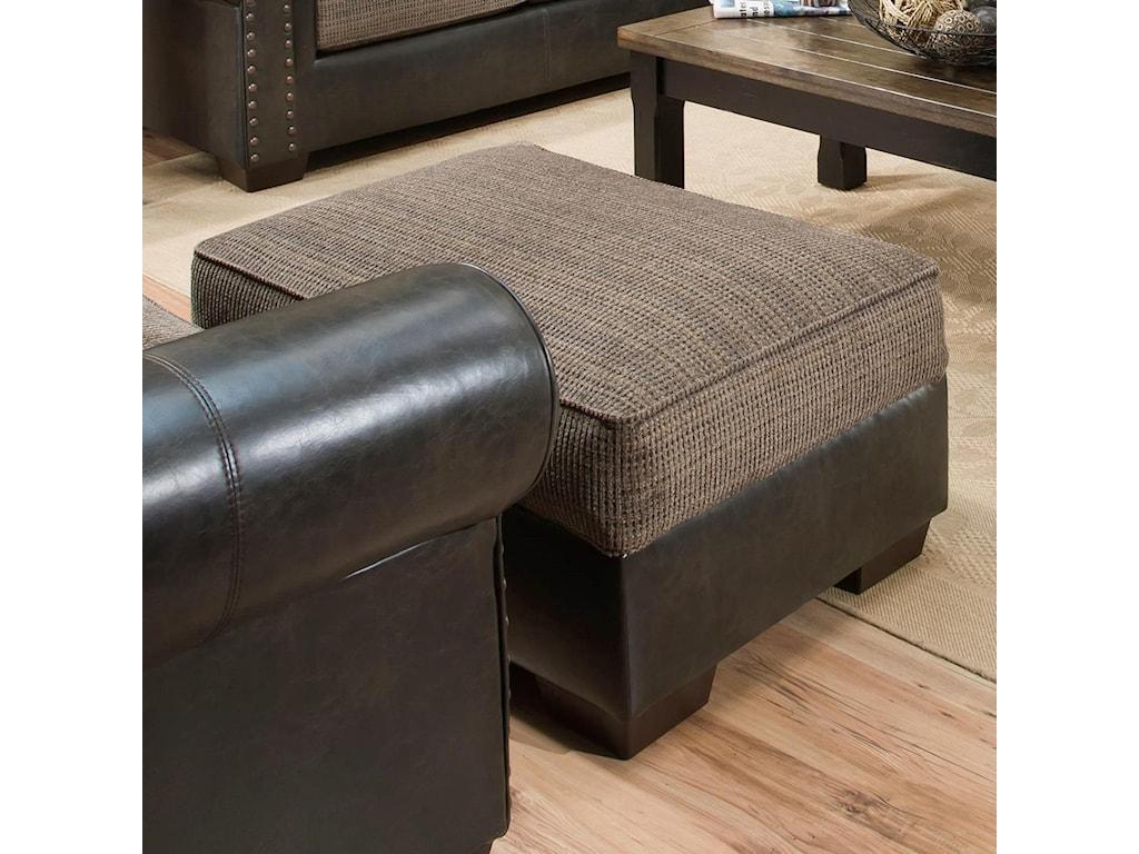 United Furniture Industries 7591Storage Ottoman