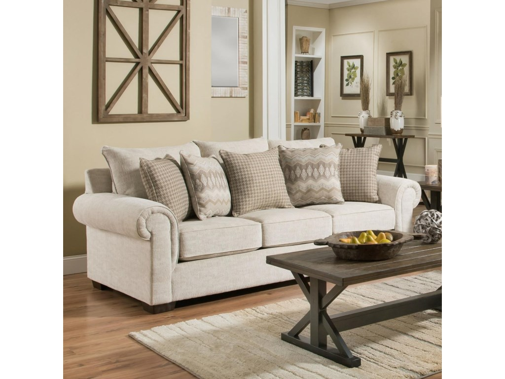 Lane Home Furnishings 7592BRSofa Sleeper