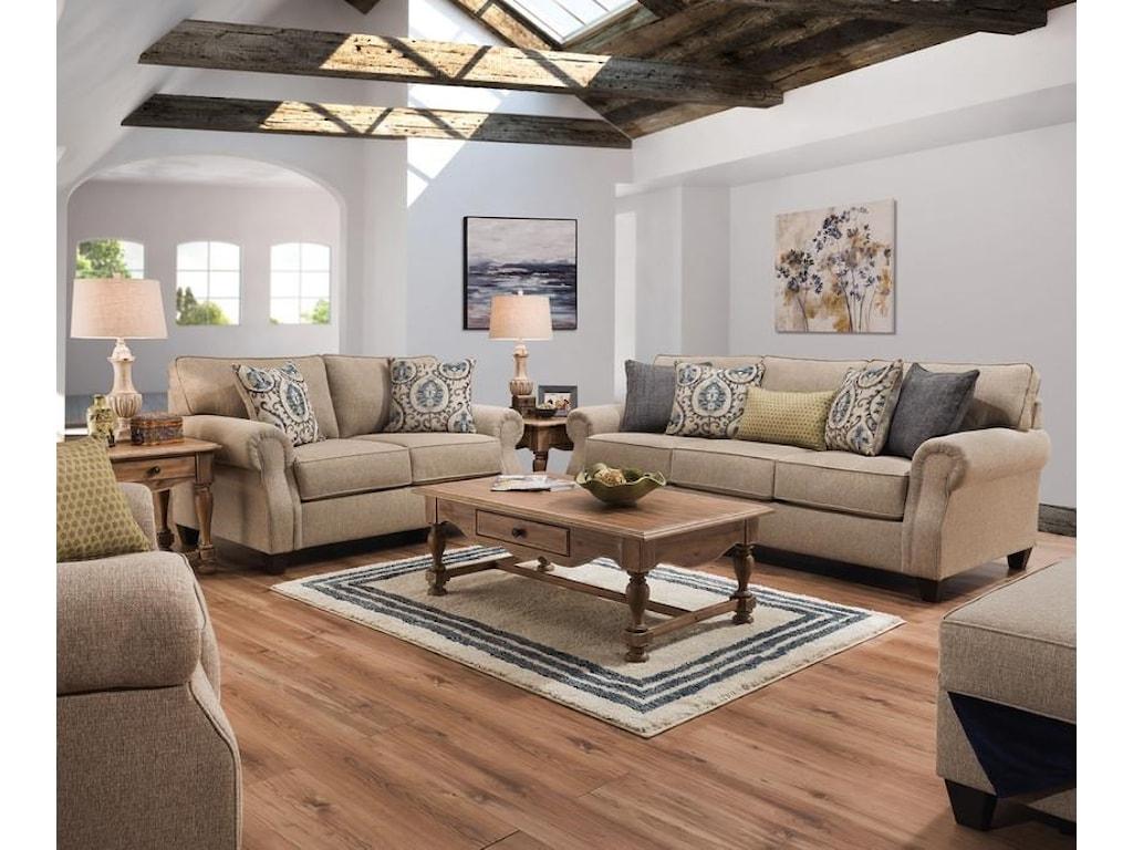 Lane Home Furnishings 8010Chair 1/2