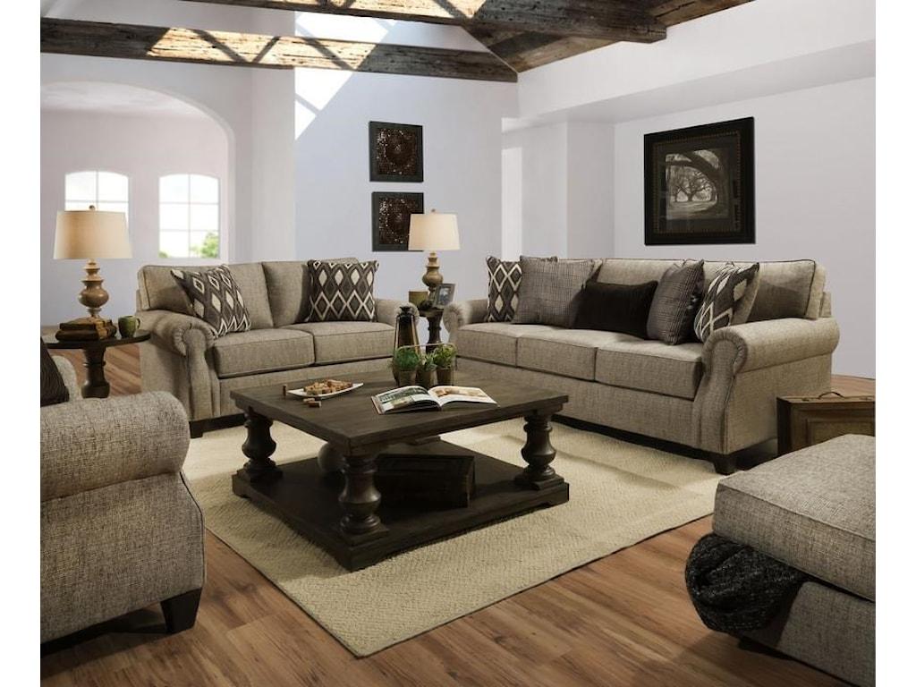 Lane Home Furnishings 8010Queen Sleeper