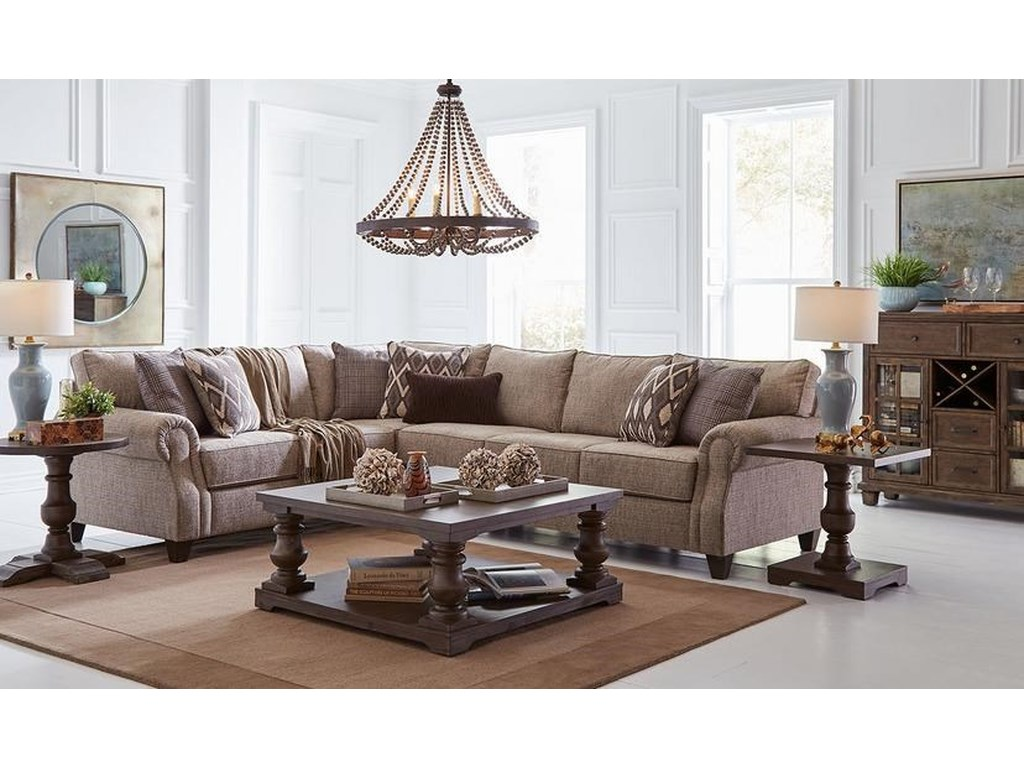 Lane Home Furnishings 8010Complete Sectional