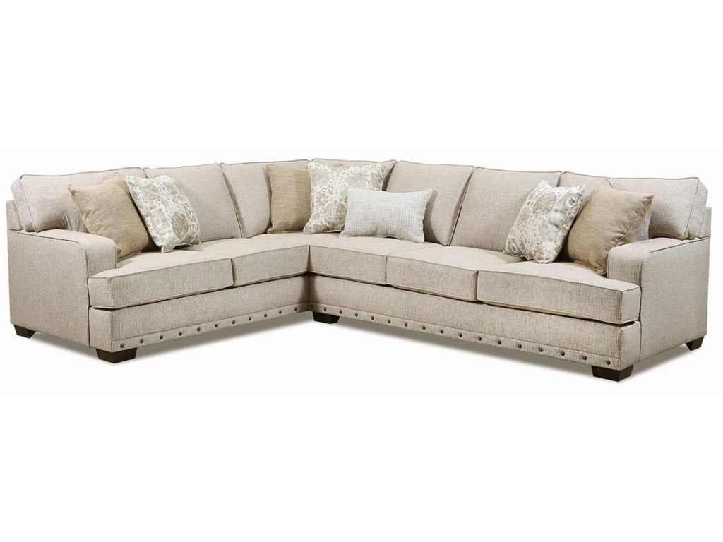Lane Home Furnishings 8016Complete Sectional