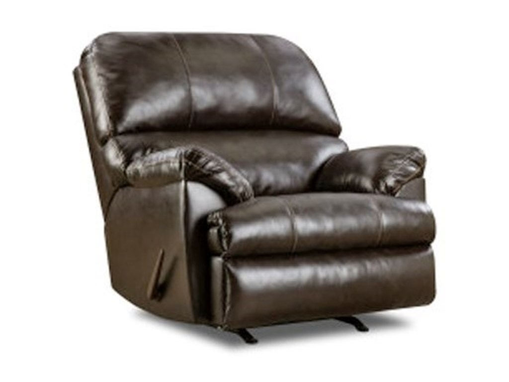 Lane Home Furnishings Bingo BrownCasual Rocker Recliner