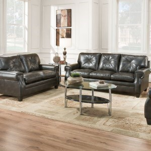United Furniture Industries 8065Transitional Loveseat