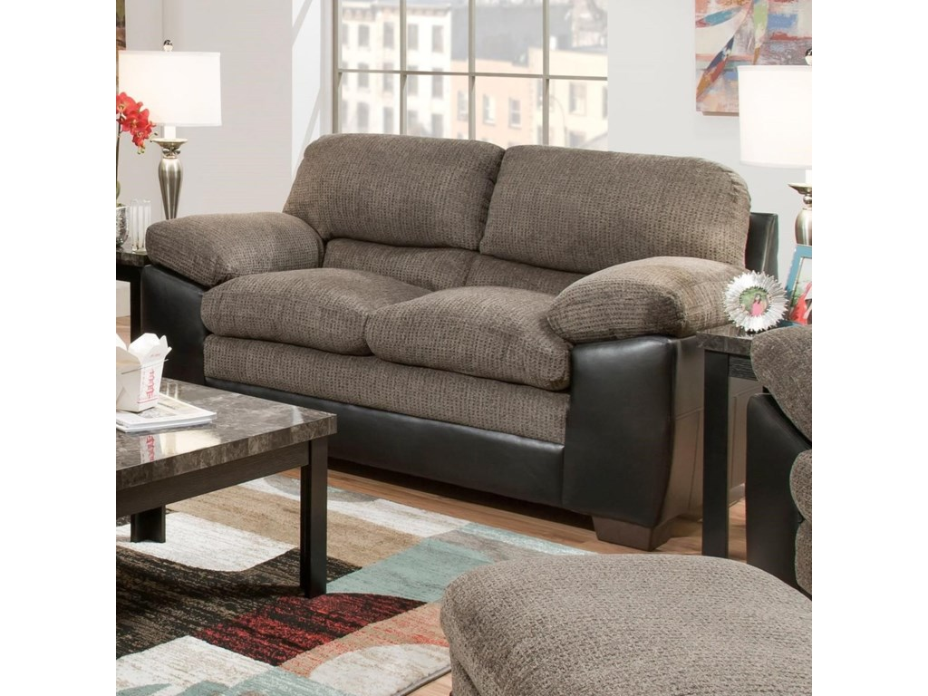 United Furniture Industries 8072Loveseat