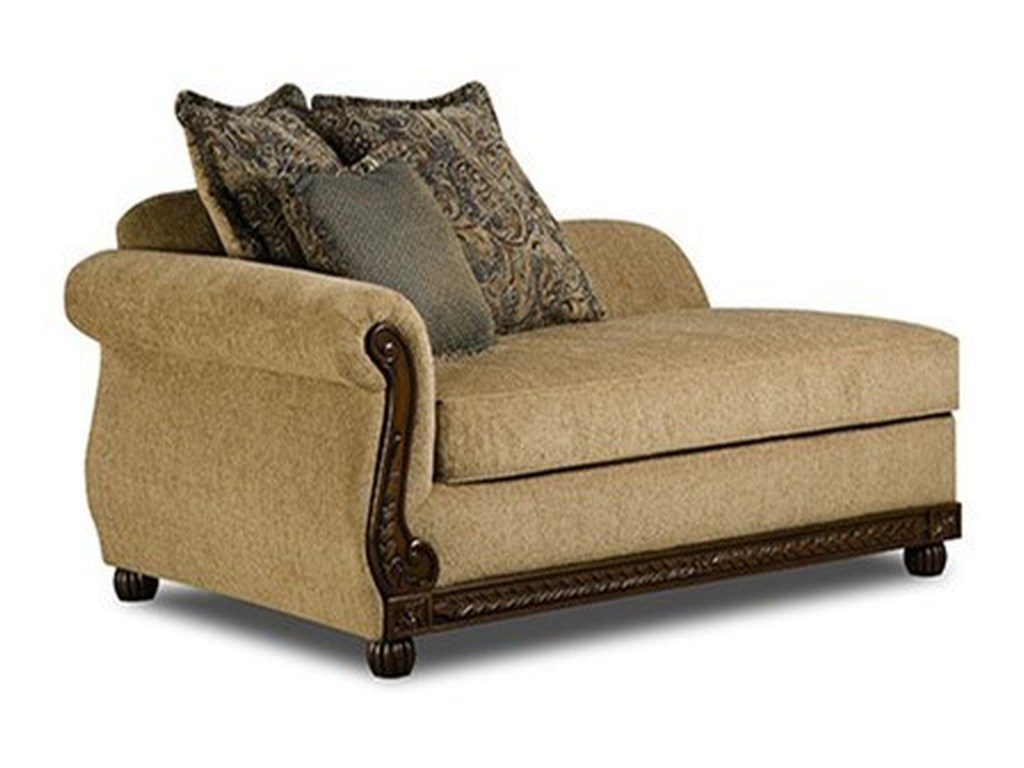 United Furniture Industries 8115Traditional Chaise