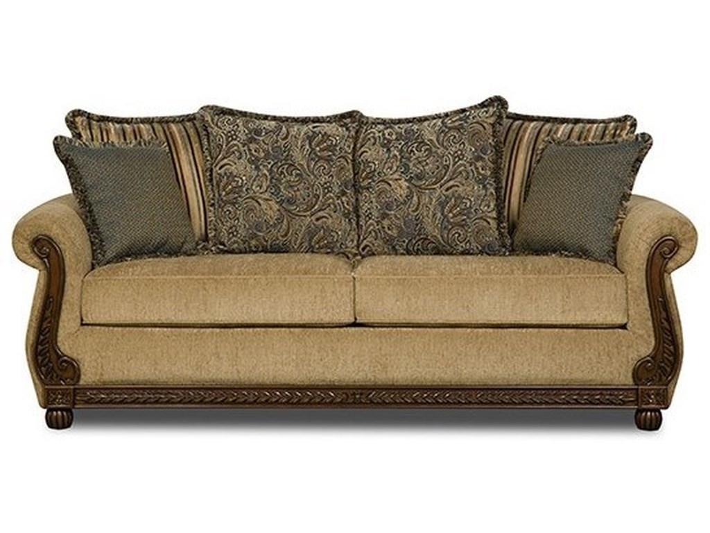 United Furniture Industries 8115Traditional Sofa