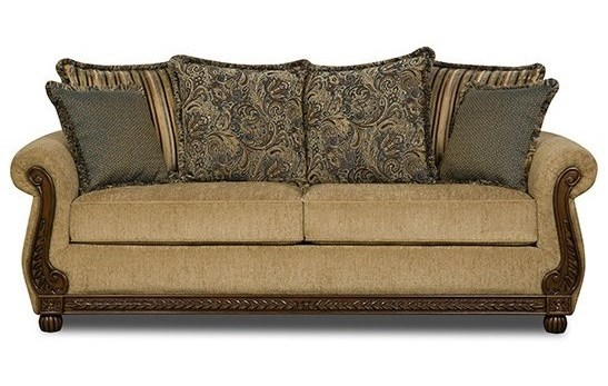 United Furniture Industries 8115Traditional Queen Sleeper Sofa