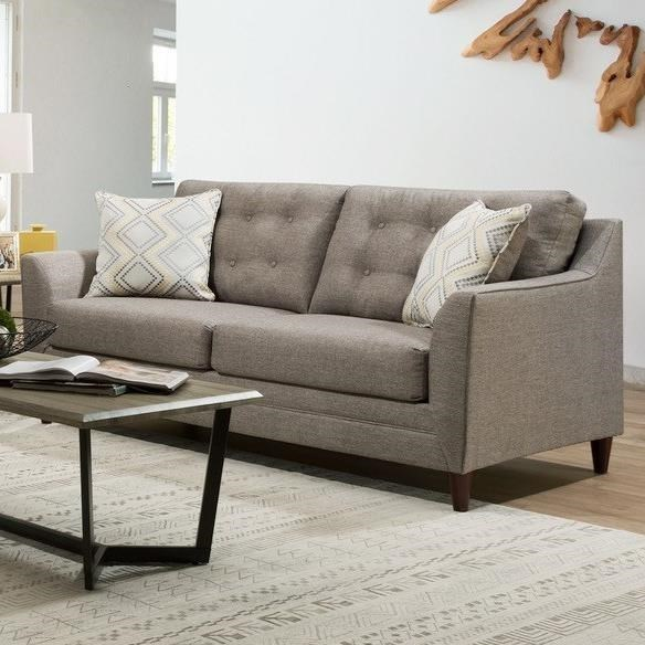 8126 Sofa With Mid Century Modern Style