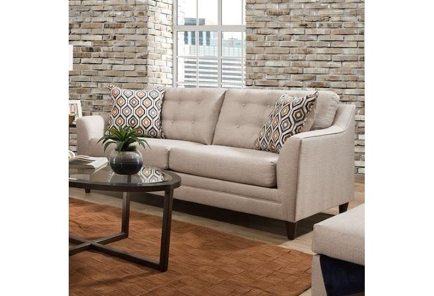 8126 Sofa with Mid-Century Modern Style by VFM Basics at Virginia Furniture  Market