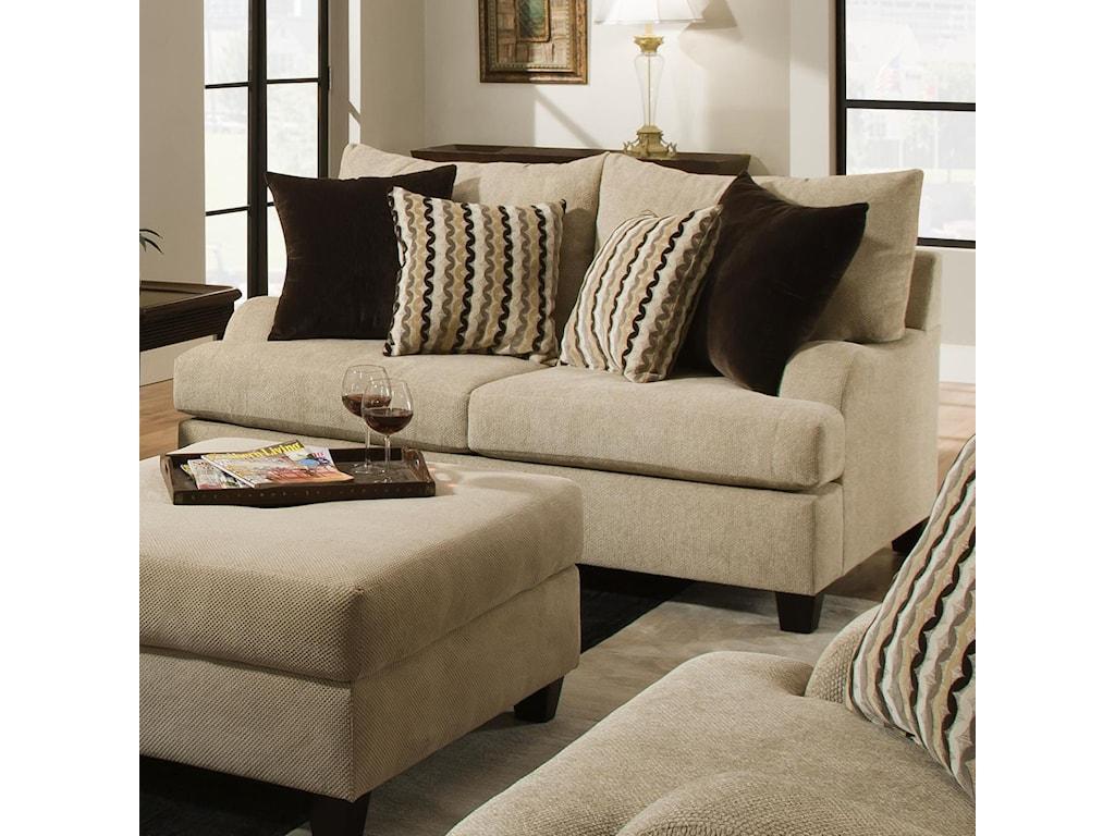 Simmons Upholstery 8520Loveseat