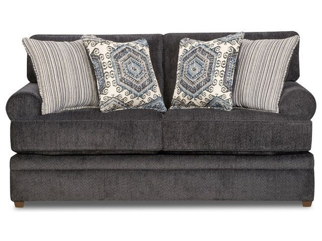 Simmons Upholstery 8530 BRTransitional Loveseat