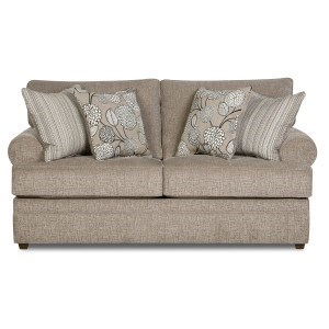 Exceptionnel Simmons Upholstery 8530 BRTransitional Loveseat ...