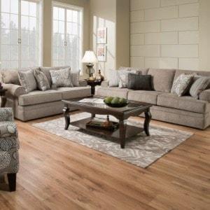 United Furniture Industries 8530 BRTransitional Loveseat