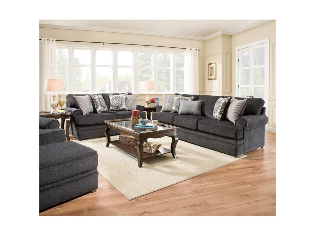 United Furniture Industries 8530 BRTransitional Sofa