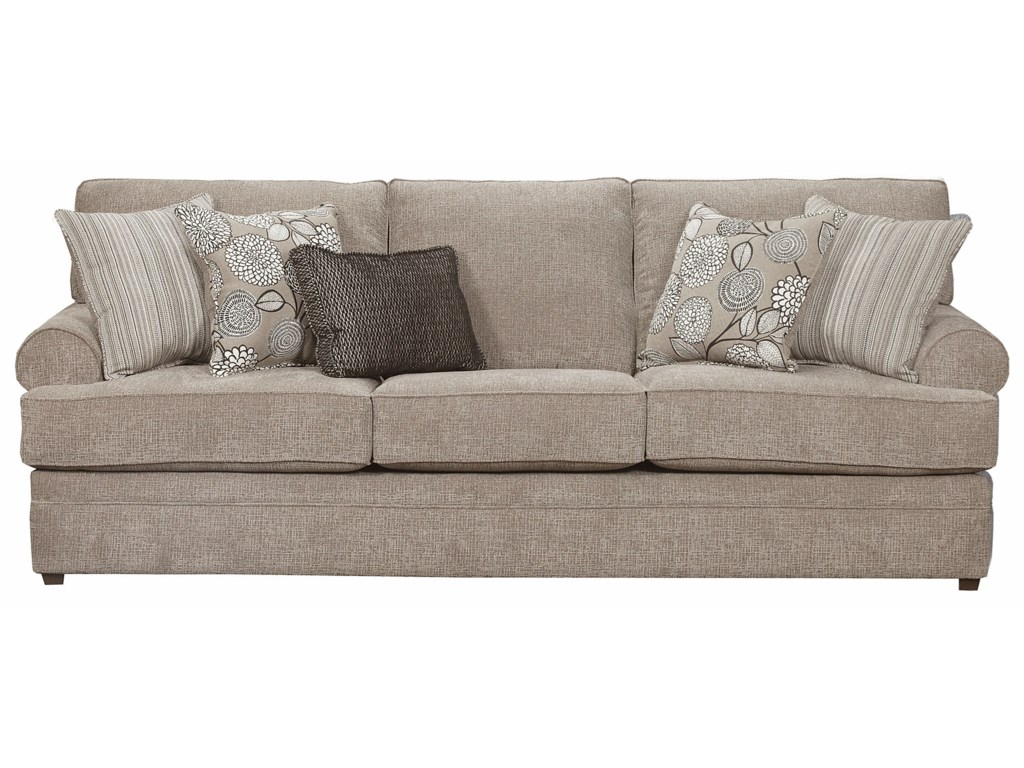 Simmons Upholstery 8530 BRTransitional Sofa