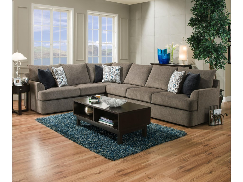 United Furniture Industries 8540BRSectional Sofa