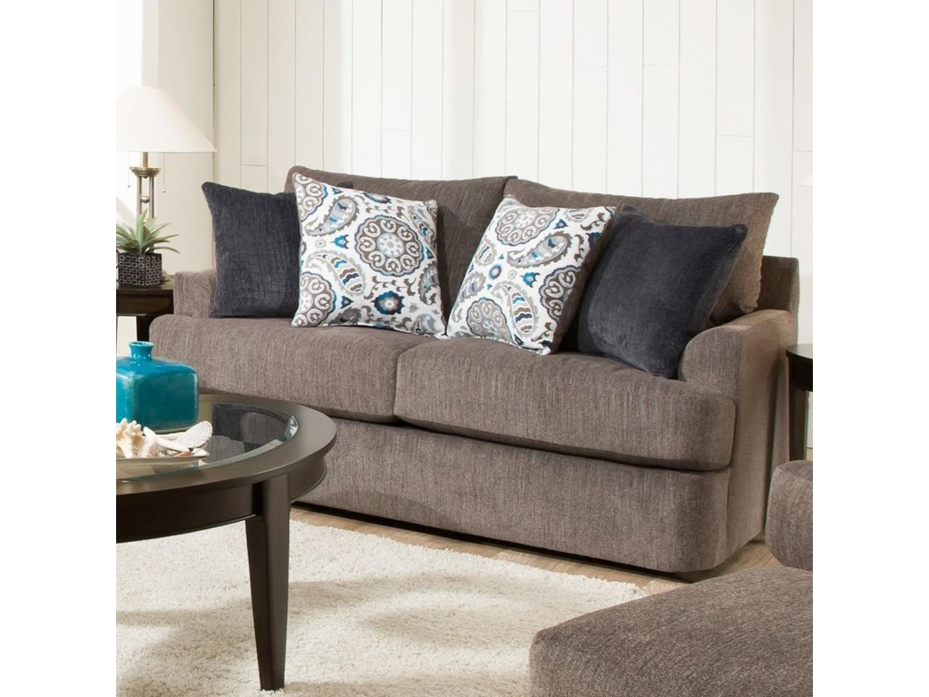 United Furniture Industries 8540BRCasual Loveseat