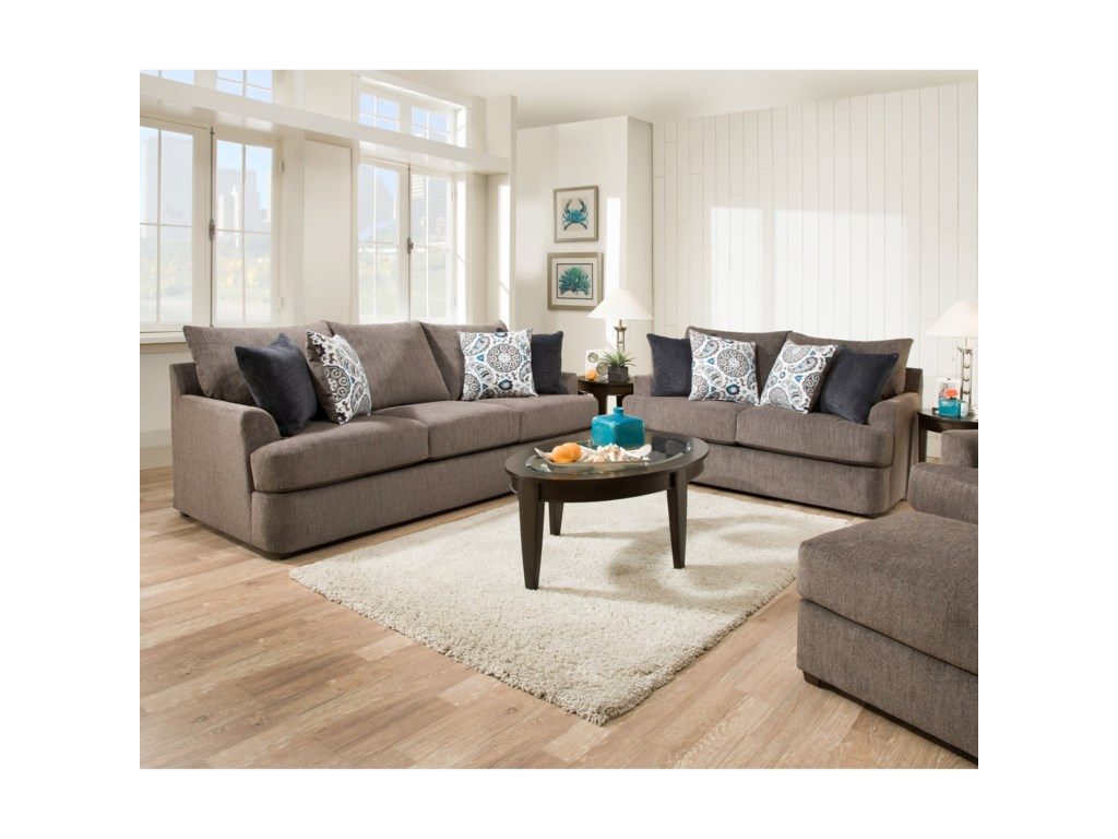 United Furniture Industries 8540 GrandCasual Loveseat